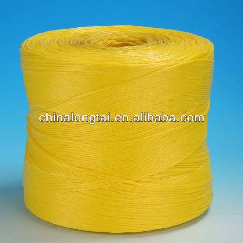 fibrillated pp yarn/sewing thread/sisal 2 ply twine