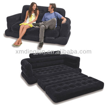 5 In 1 Inflatable Sofa Bed With High Strength Pvc Materials Air