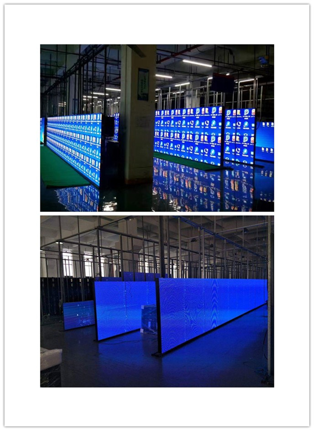 Energy Saving Ultra Thin Front service P4.81 RGB LED Display Full Color LED Screen for rental