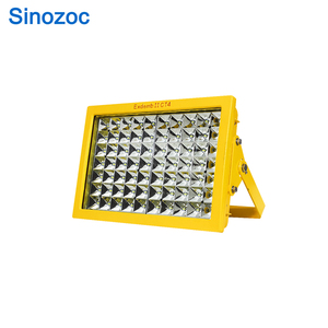 China IP66 50W hazardous location LED supplier anti explosion light, explosion proof bulkhead