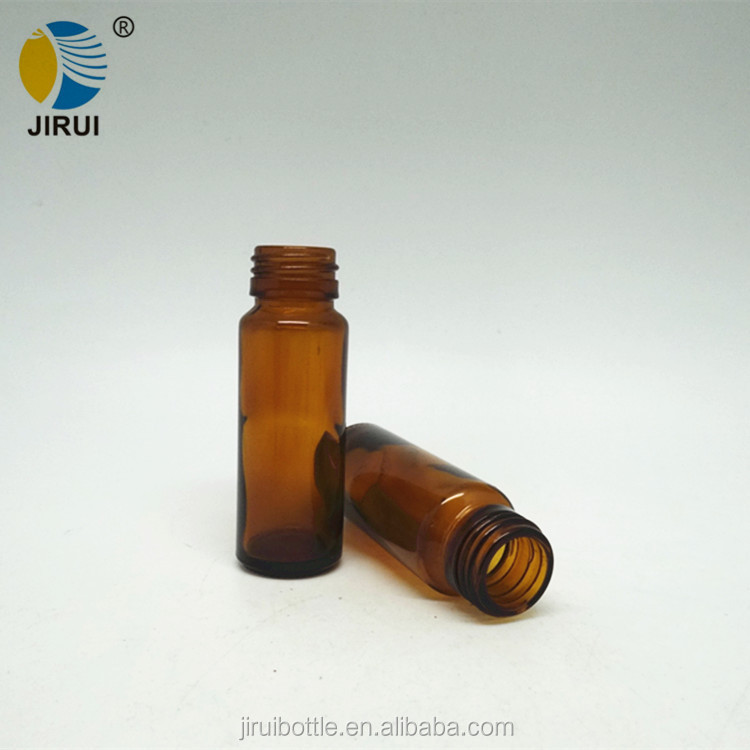 35ml amber glass syrup bottle for oral liquid small glass vial