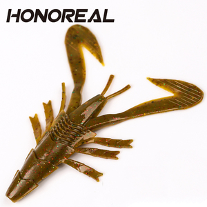HONOREAL soft lure factory Weihai soft Artifical Bait