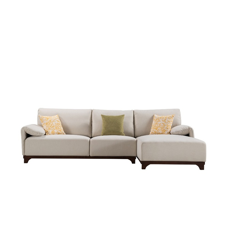 Latest 2016 New Design Sofa Cloth Japanese Style Sectional Imported Sofa  Set Living Room Furniture