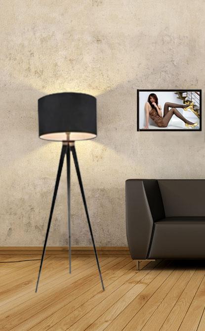 simple lampadaire mode ikea lampadaire tr pied clairage cr ative tr pied lampe spot. Black Bedroom Furniture Sets. Home Design Ideas