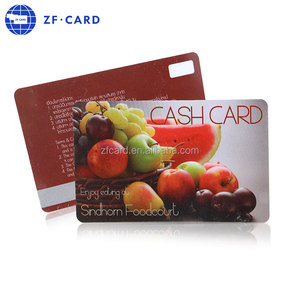 Apple plastic gift card