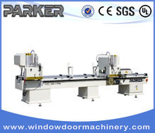 the king of cutting machine ---pvc profile double head cutting machine