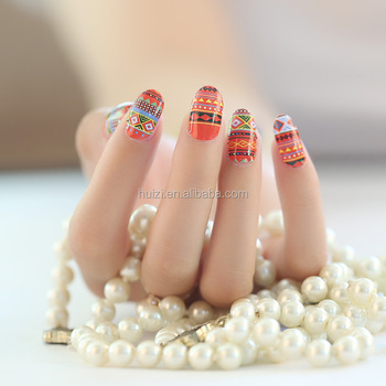 Wholesale Custom Nail Art Sticker Wraps Full Cover Nail Decals