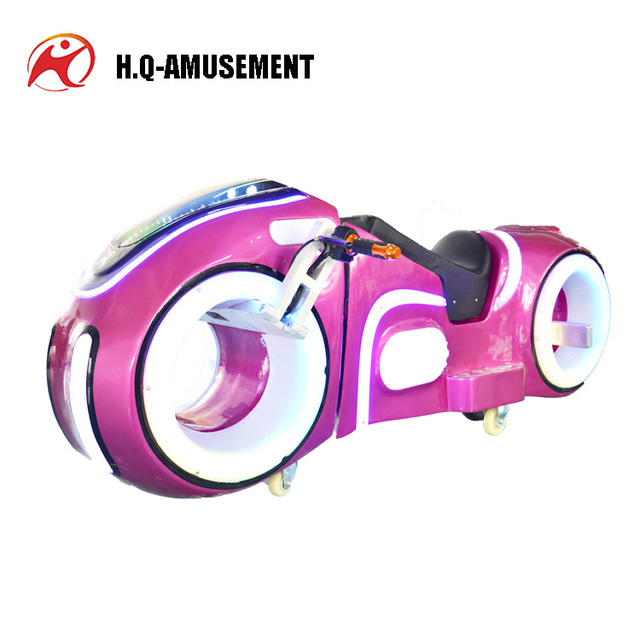 Indoor amusement equipment luxury 2 wheeler electric scooters prince motorcycle for parent-child