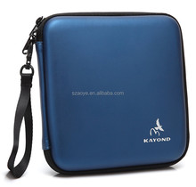 Portable Hard Carrying Travel Storage Case for External USB, DVD, CD, Blu-ray Rewriter / Writer and Optical Drives (Blue)