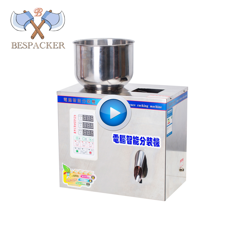 Bespacker XKW-20 automatique granulesl poudre distributeur machine de remplissage machine de conditionnement de pesage