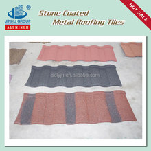 Stone Coated Panels Colorful Stone Coated Metal Roofing Tile
