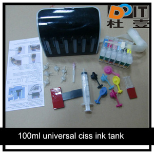 China manufacturer ciss accessories parts with syrings,pipe,refill tool etc