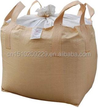 Two Layers Jumbo Bag For Soil Sand And Chemical Powder Polypropylene