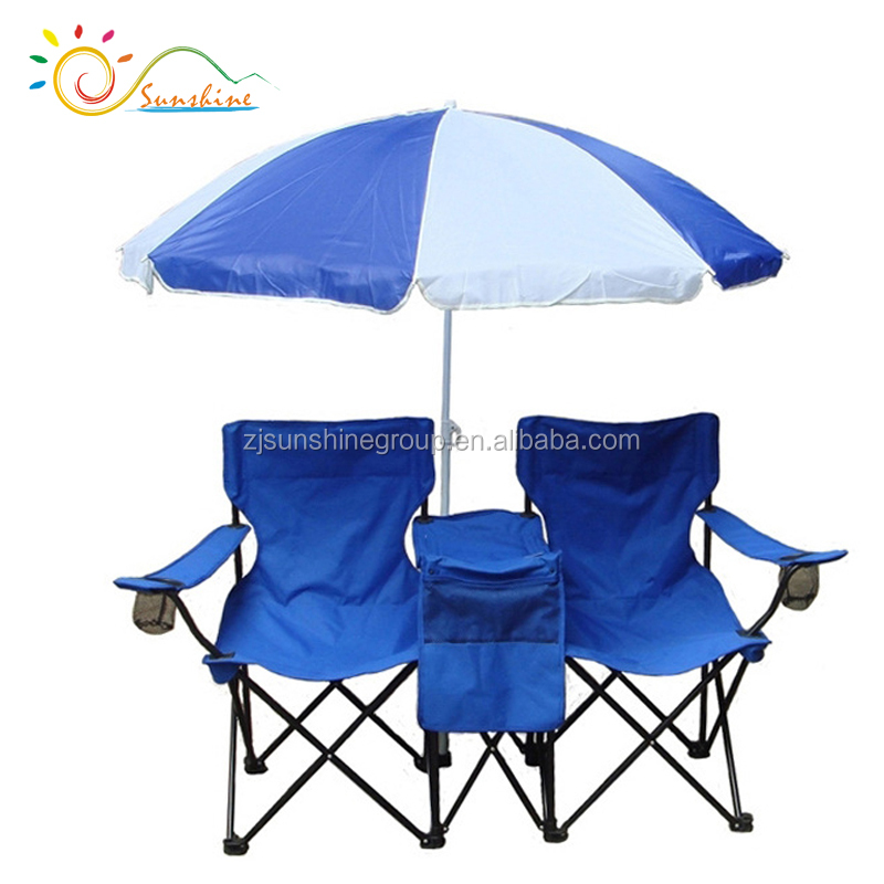 Amazing Picnic Double Seat Adjustable Folding Chair Portable Cooler Lawn Hiking Folding Beach Chair Buy Picnic Double Folding Chair W Umbrella Table Cooler Unemploymentrelief Wooden Chair Designs For Living Room Unemploymentrelieforg