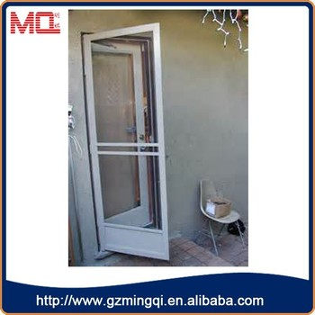Hot Sale White Pvc Commercial Double Beveled Glass Interior Doors