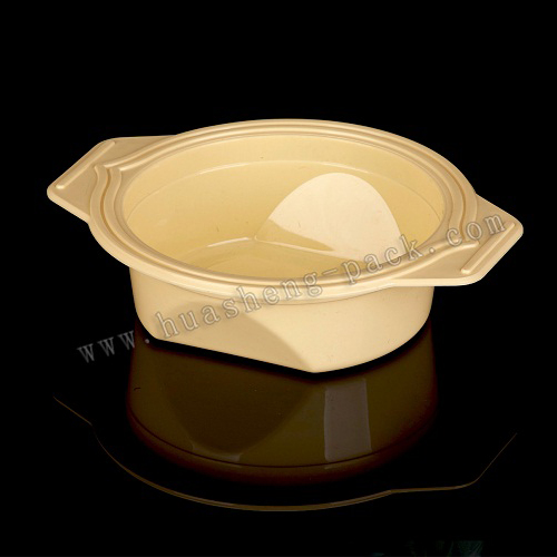 250ml bowl shape food container with handle