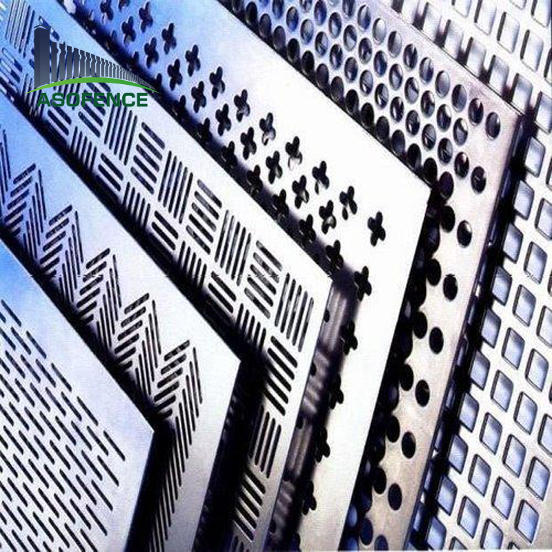 decorative galvanized stainless steel aluminum perforated metal sheet