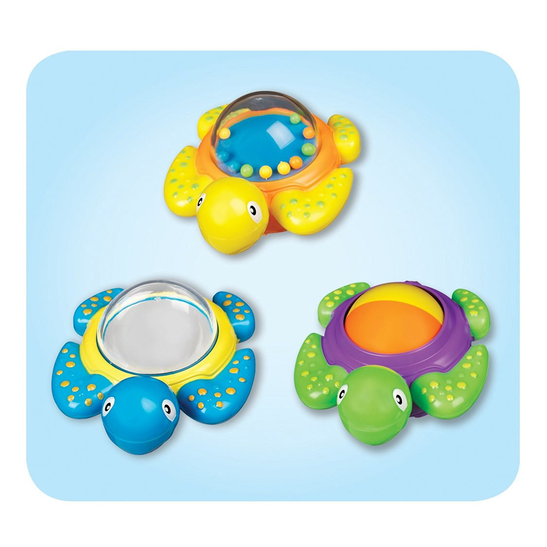 Buy Munchkin Baby Bath Toy, Turtles Baby Bath Toy Baby Fun Play ...