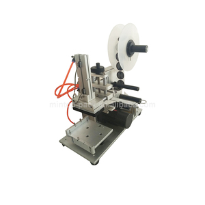 Tabletop Manual Flat Plastic Bag Surface Labeling Machine