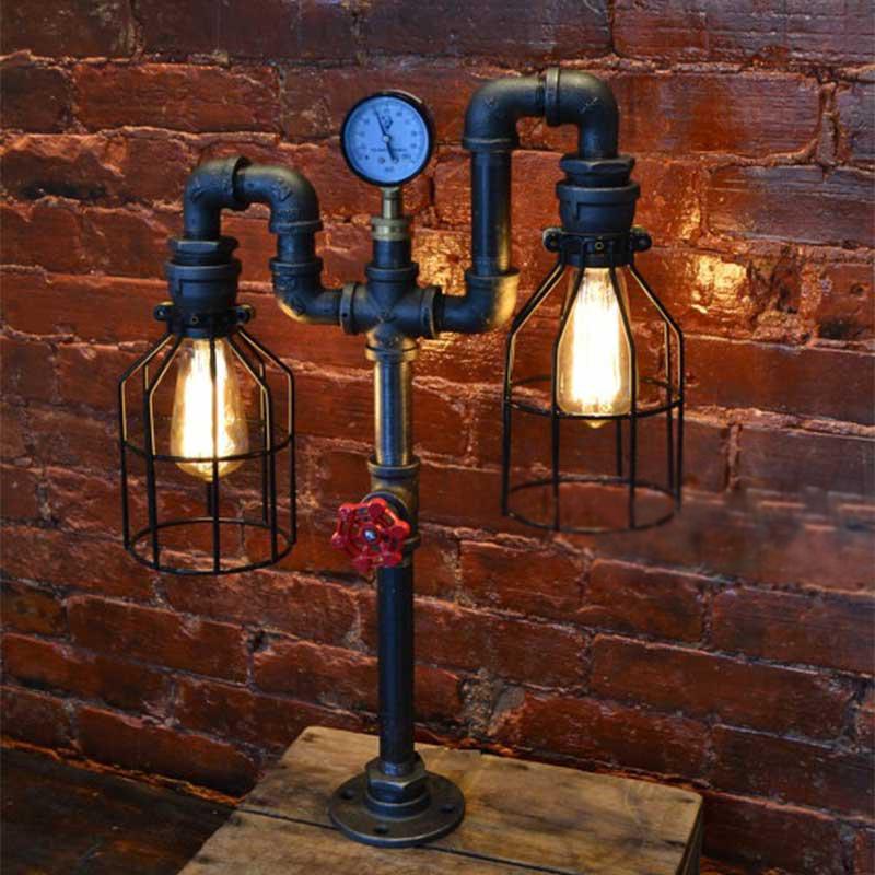 Costruire Lampada Lampada Lampada Con Con Con Tubi Idraulici