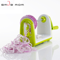 Hot Selling Kitchen 5 Blade Vegetable Spiralizer, Spiral Slicer - Zucchini Spaghetti Pasta Maker Spiral Cutter for Vegetables