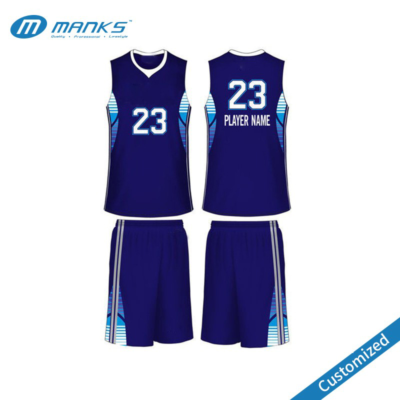 65a3182ba Blue And White Basketball Jersey