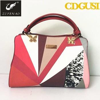 4de66be239 Famous lady office bag women new fashion handbags women's bags Hot sale pu  vintage shoulder purse