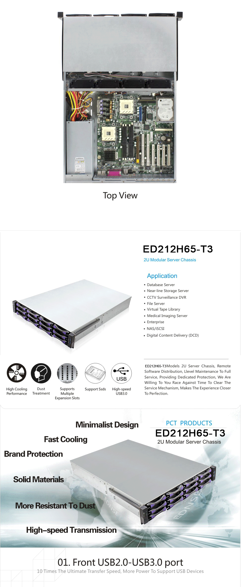 ED212H rock case