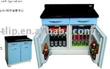 Minibar Mit Kühlschrank : Klarstein brooklyn l kühlschrank mit glastür u mini kühlschrank u u
