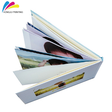 professional hardcover offset coated paper cheap art photo book printing