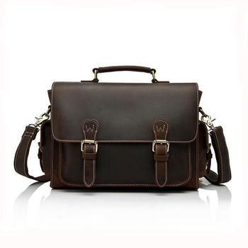 Vintage Custom Genuine Leather Camera Bag Dslr