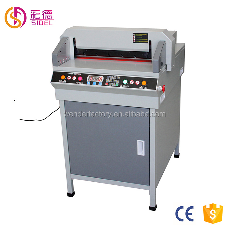 Factory price Low cost electric guillotine automatic paper cutting machine