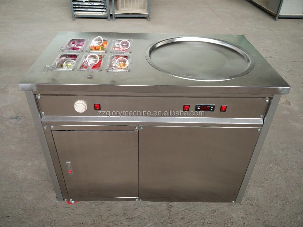 Ice Cream Rolls Machine/ Fried Ice Cream Roll Machine/ Ice Cream Making Machine