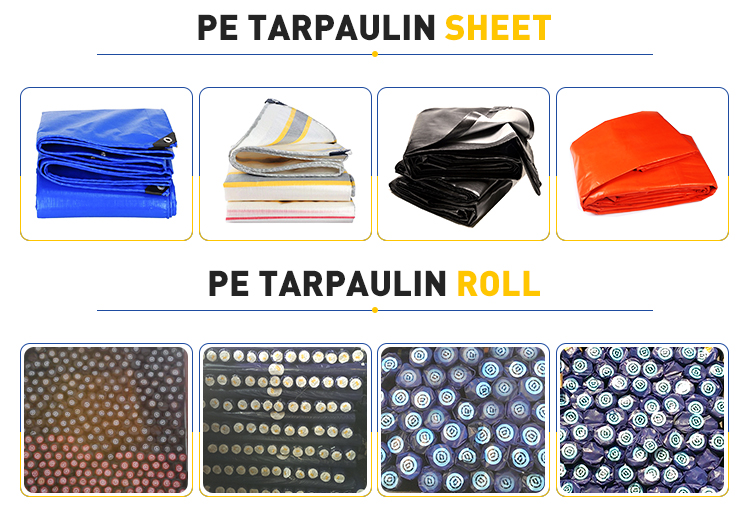 Durable PE Truck and Tent Tarpaulin Materials