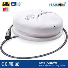 Motion activated Plug and play 720 P wifi onvif 2.0 security fotocamera con registratore vocale Somke Rivelatore telecamera