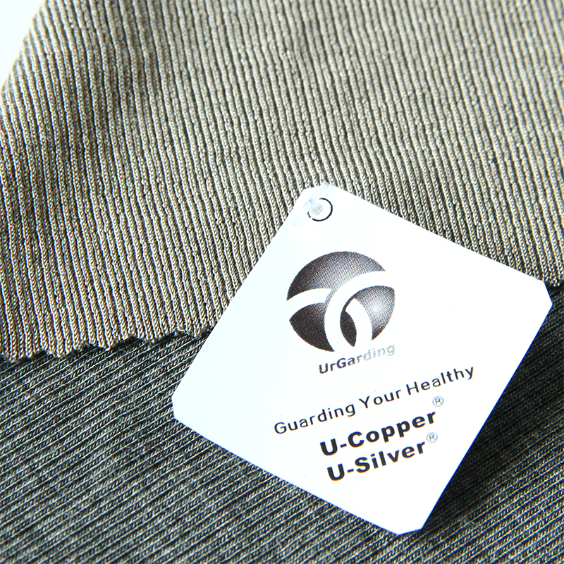 Radiation absorbent material,bamboo fabric with Silver thread for radiation protection underwear, functional underwear
