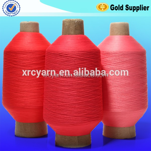 100% high Stretch dyed DTY Nylon 6 Yarn from chese factory