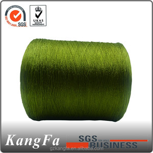 KANGFA sock knitting spun polyester yarn