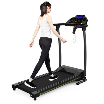 107 hot selling in Amazon best price 0.6hp 0.6 horse smart treadmill belt home use treadmill with massager