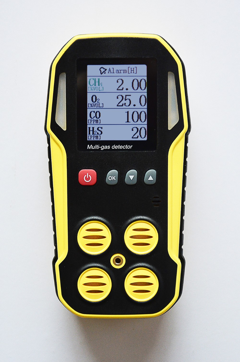 5 Gas Detector,Lel,Co,O2,H2s,Co2 With Ip66/67 Water-proofing