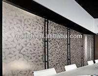 Interior Decorative Leaf PETG Wall Panel