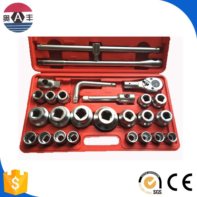 26pcs auto and motorcycle tool sets combination socket wrench set