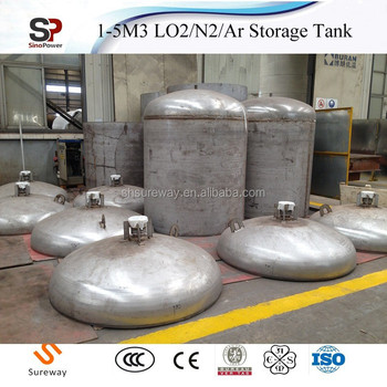 Small Scale Liquid Carbon Dioxide Storage Tank For Sale