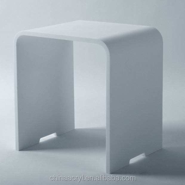 acrylic shower bench part