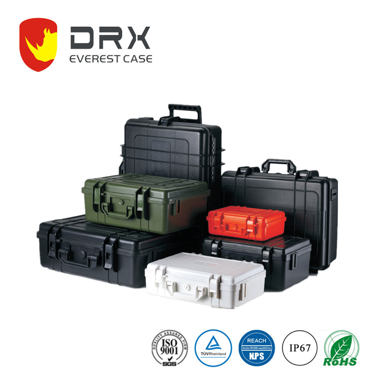 DRX EPC017-1 Outdoor Plastic Equipment Carrying Tool Storge Transport Travel plastic case usb flash drive Case