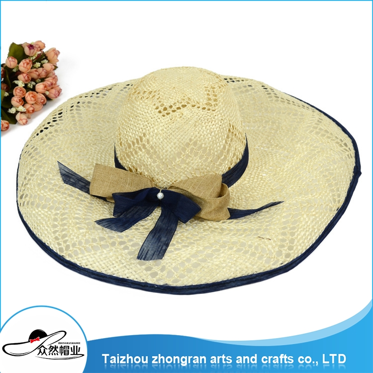 Customized Design Changeable Panama Straw Hat Sombrero Hat