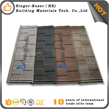 Lowes Stone Chips Coated Sheet Metal Roof Per Square Price Metal Roofing  Sheet Philippines Color Stone