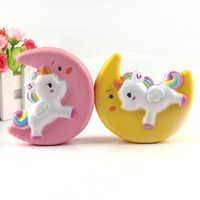 Amazon wholesale Slow Rising Squishies Cute moon horse Cream Scented Decampression Kids Toys