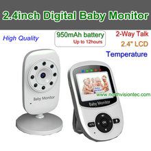 Voice activation summer infant video monitor