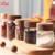 170ml Heat Resistant Borosilicate Screw Top Childproof Glass Food Storage Jar With Acacia Wood Lid